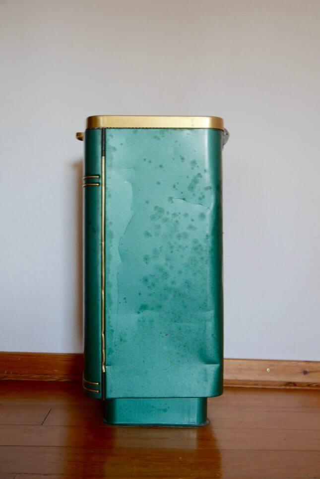 Vintage Regal aus altem Holzofen Bild_4