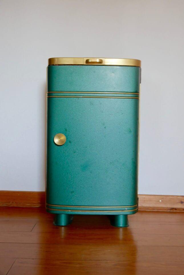 Vintage Regal aus altem Holzofen Bild 2