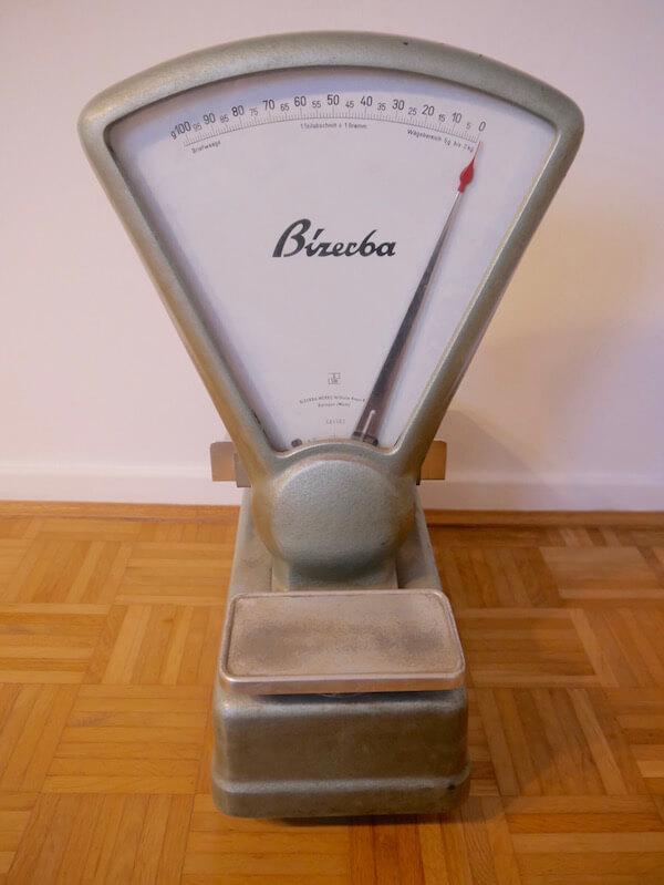 Bizebra Briefwaage Antik