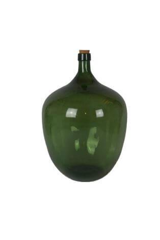 Sehr große alte Likörflasche