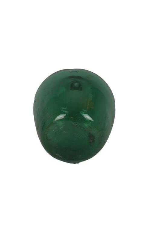 Große bauchige Flasche Vase grün