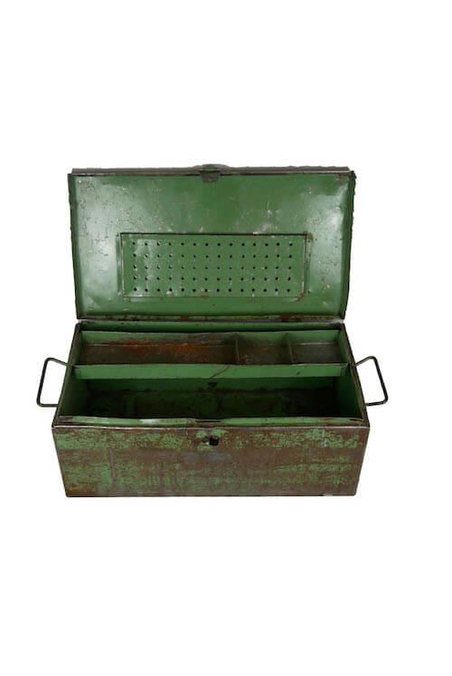 Industrie Metallkiste Möbel
