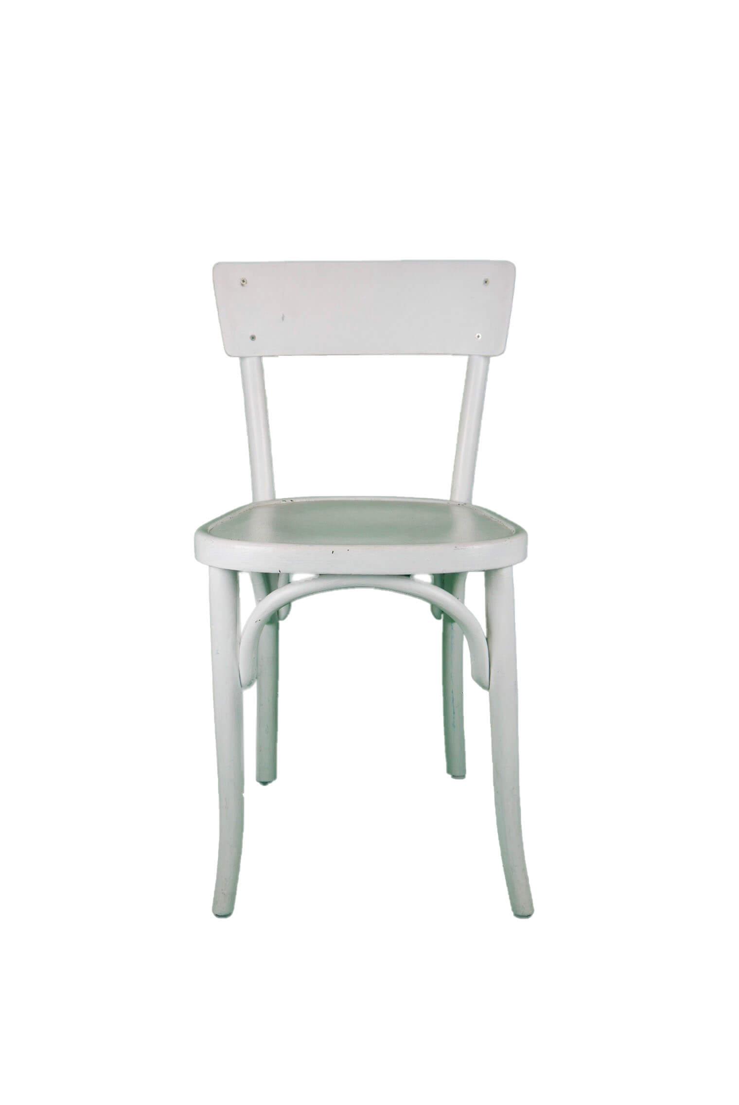 All About Werkzeugwagen Weißer Vintage Stuhl