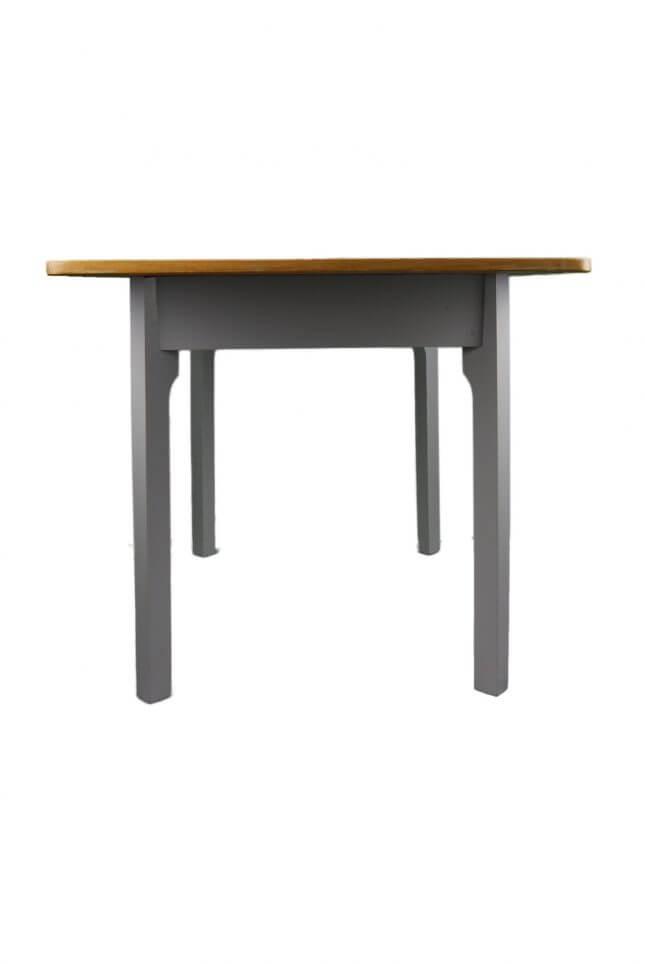 Grauer Vintage Holztisch
