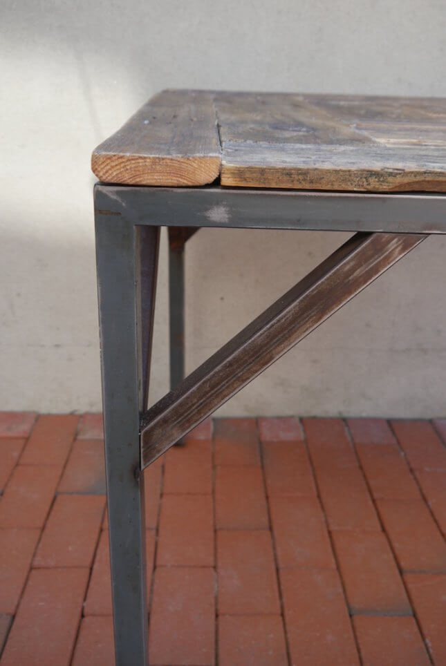 Industrie Tisch - quadratisch