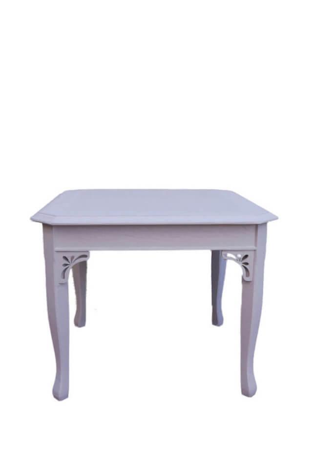Alter Tisch in Taupe