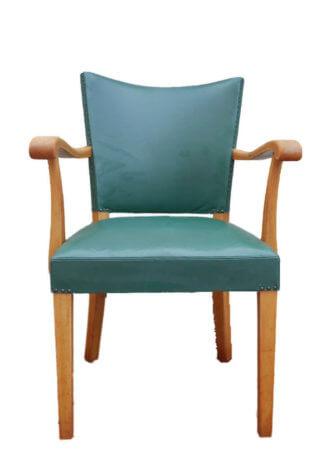 Grüner Retro Sessel